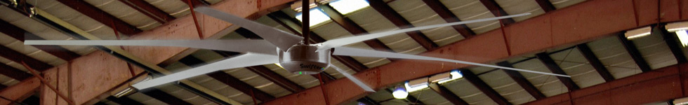 Industrial Ceiling Fan Product Information