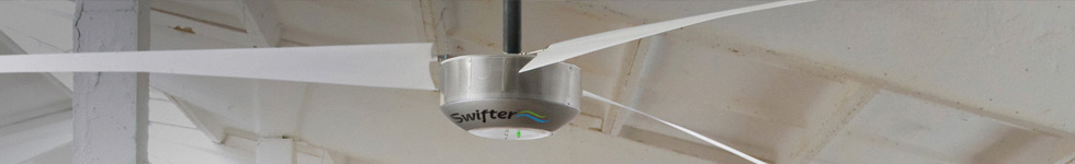 Industrial Ceiling Fan Sizes and Specifications